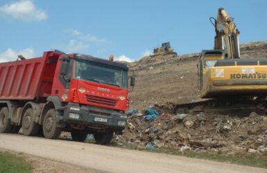Székesfehérvár városi hulladék lerakó rekultiváció